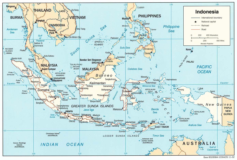 亚洲 >> 印度尼西亚